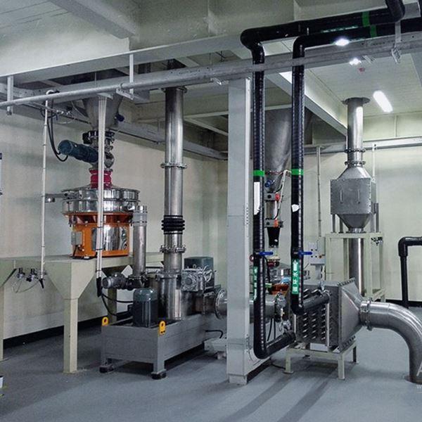 天津某新材料科技公司钴酸锂/三元材料生产线
